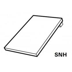 Roto Designo Single Flashing with pre-fitted insulation Plain Tiles AL 5/7