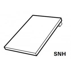 Roto Designo Single Flashing with pre-fitted insulation Plain Tiles AL 5/11