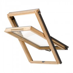 RoofLITE Nito DVX 500 Centre Pivot Timber Roof Window – S6A