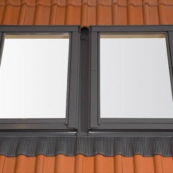 RoofLITE Combination Tile Flashings 16mm - 120mm (2 Windows side by side) - C2A