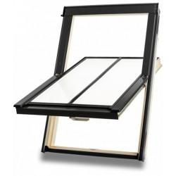 Dakea Better Centre Pivot Conservation Vintage Timber Roof Window – M6A