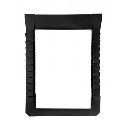 Dakea Aluminium Plain Tile Flashing 0 – 28mm (2x14) – C4A Vintage (Black)