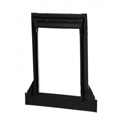 Dakea Aluminium Universal Flashing 16mm – 120mm – C4A Vintage (Black)