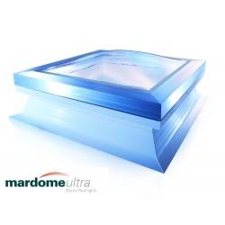 Mardome Ultra Triple Glazing Flat Roof Window with Standard Kerb Vented - 600 X 600mm