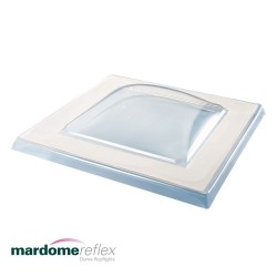 Mardome Reflex Single Glazing to fit Builders Kerb – 75mm Flange - 600 X 600mm
